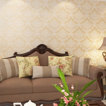 Silver and Brown Modasion Saphire 1533 Wallpaper
