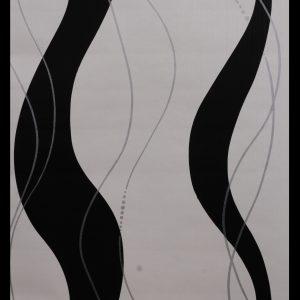 Spiral Black Abstract Wallpaper