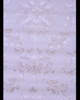 Traditional Grey Damask Wallpaper