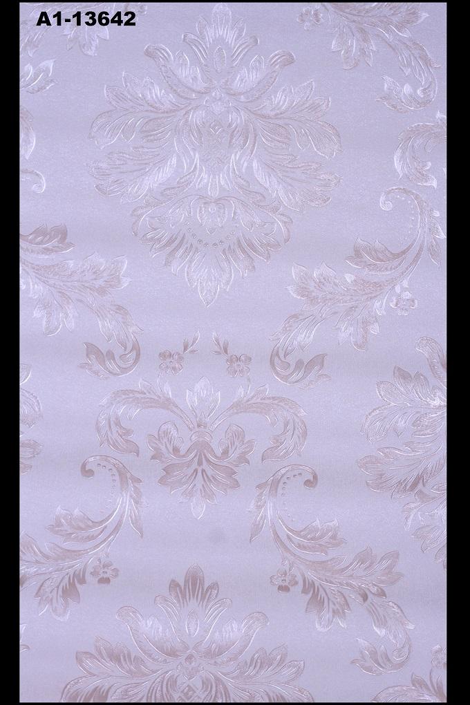 buy wallpaper online traditional grey damask wallpaper. Black Bedroom Furniture Sets. Home Design Ideas