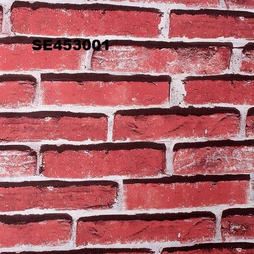 Red Brick Coloured Wallpaper