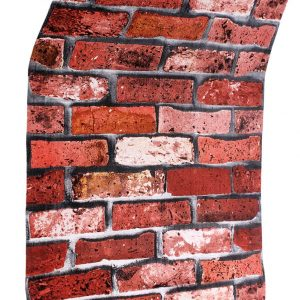 Red Brick Coloured Wallpaper