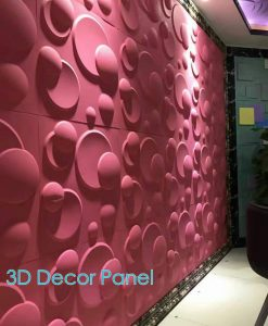 Live Button 3D Wall Panel