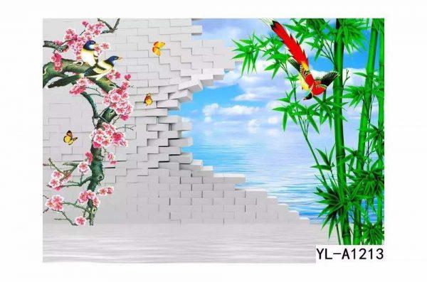Lakeside Bamboo Wall Art