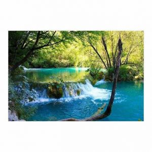 Beautiful Flowing Stream Wall Art