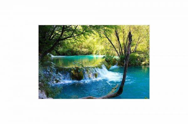 Beautiful Flowing Stream Wall Art