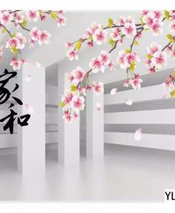 Japanese Blossom Flower Wall Art