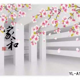 Japanese Blossom Flower Wall Art