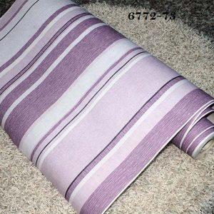 Soft Multicoloured Striped Wallpaper