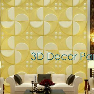 Floral 3D Wall Panel