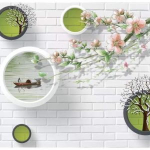 Picturesque Brick Wall Art